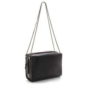 3.1 Phillip Lin Soleil Double Chain Bag in Black
